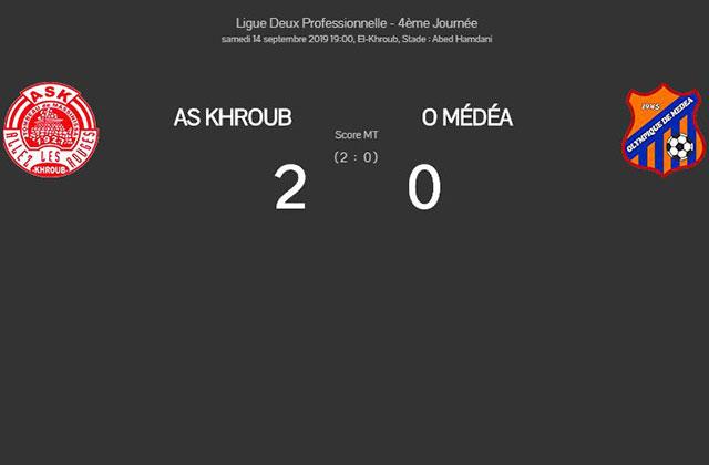L2, J4: L'OM trébuche à Khroub